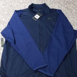 Nike Men's Dri-Fit Training Full-Zip Jacket Obsidi